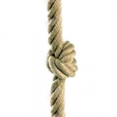 Kletterseil mit Knoten 26 mm
