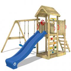 Spielturm Wickey MultiFlyer mit Holzdach