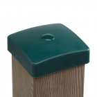 Pfostenkappe vierkant Kunststoff
